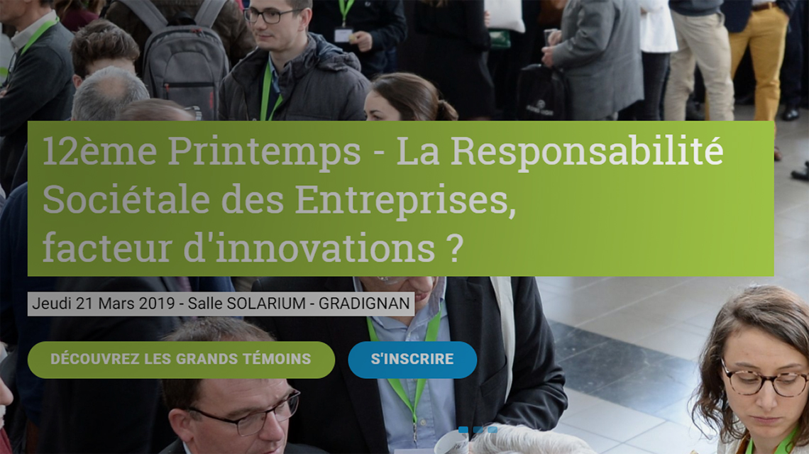 12 ieme printemps d'Agri Sud Ouest Innovation