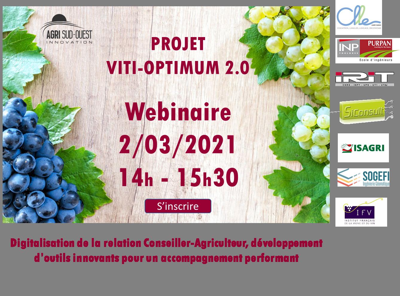 Projet viti-optimum 2.0 Webinaire le 2 mars 2021, 14h-15h30