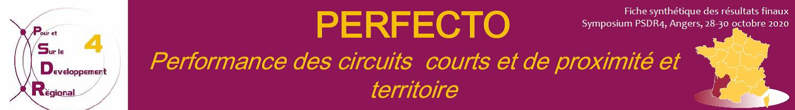 Restitution du programme de recherche Perfecto – Jeudi 10 juin 2021 – 09h00/12h00